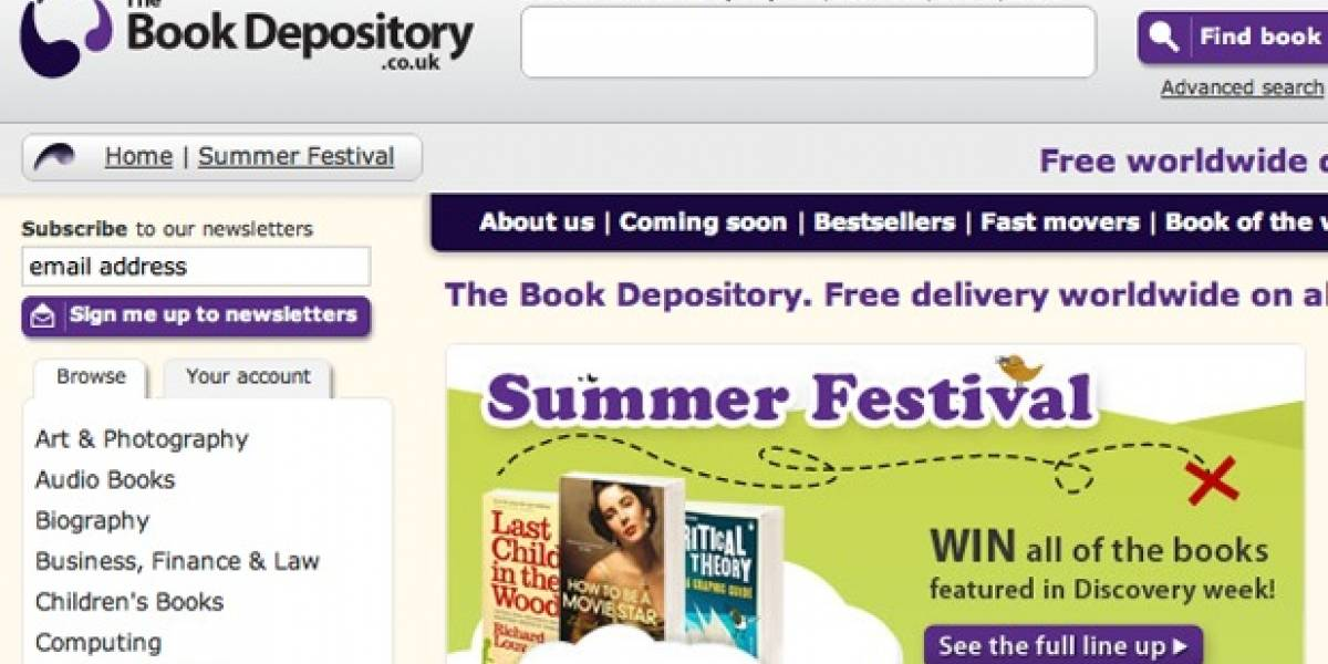 Amazon compra librería online The Book Depository