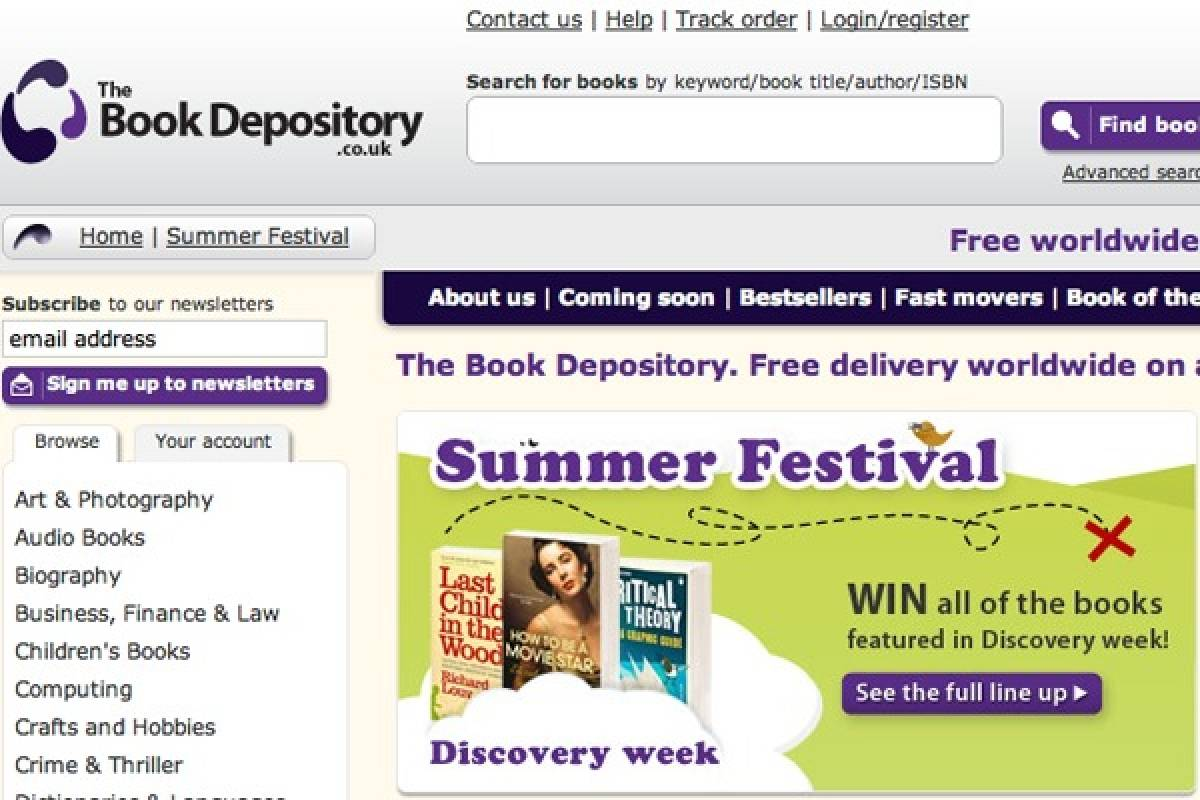 amazon compra librer a online the book depository