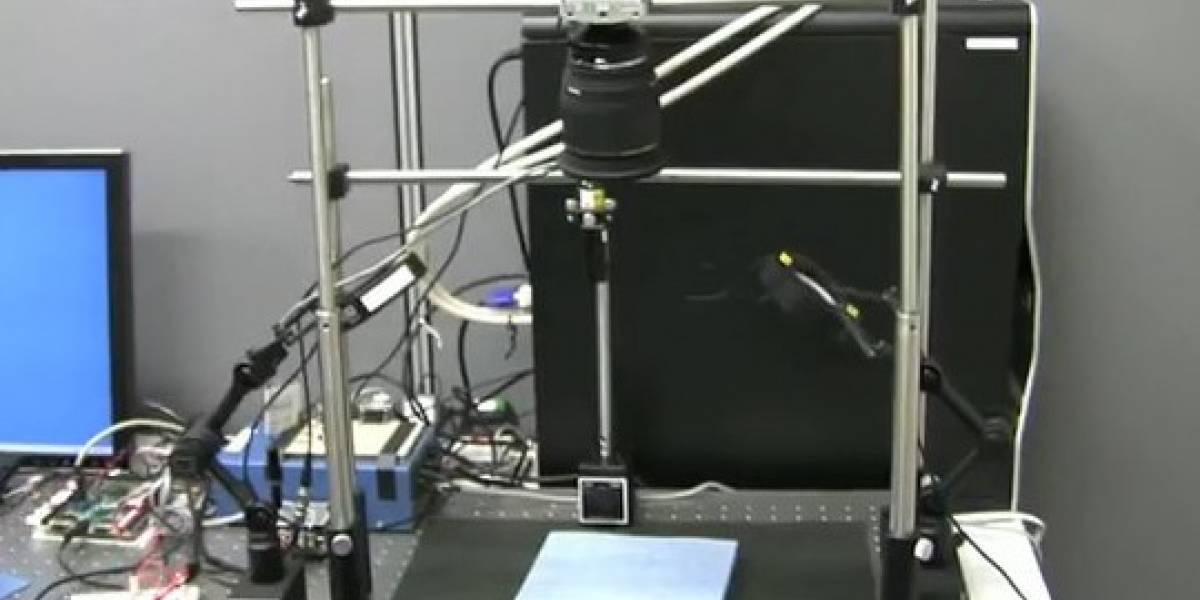 """Sistema con """"Super Visión"""" escanea un libro de 200 páginas en un minuto (Video)"""