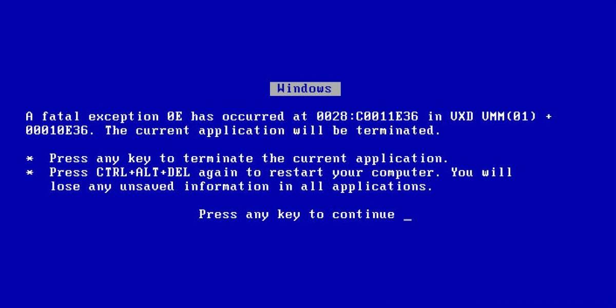 """McAfee causa problemas de """"falsos positivos"""" en Windows XP SP3"""