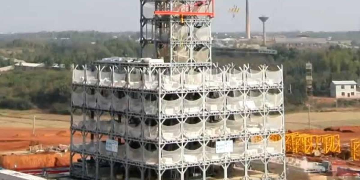 Un hotel de 30 plantas construido en sólo 360 horas