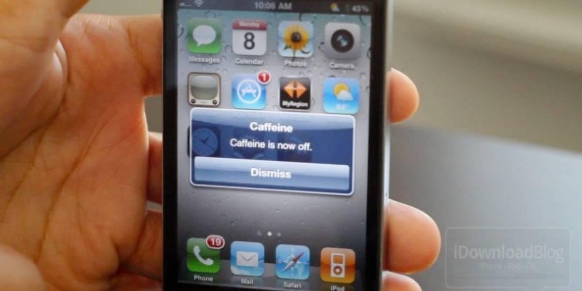 Caffeine ahora también para dispositivos móviles con iOS