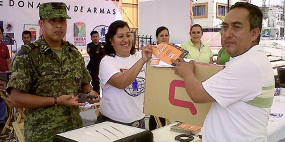 México: Ejército canjea torpedo submarino por laptop