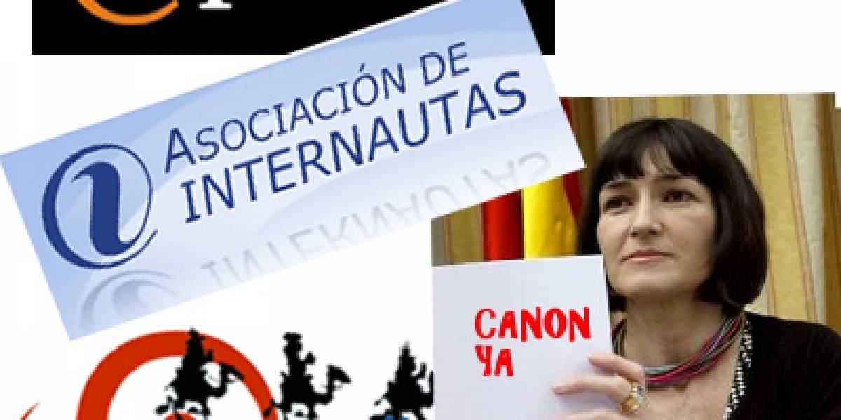 España: Usuarios e Internautas exigen participar en la reforma del canon digital