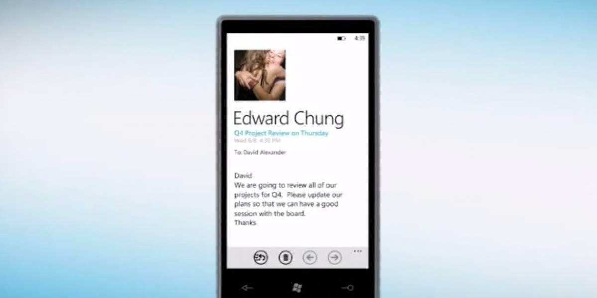 Video: People Hub de Windows Phone (Mango) es mostrado oficialmente
