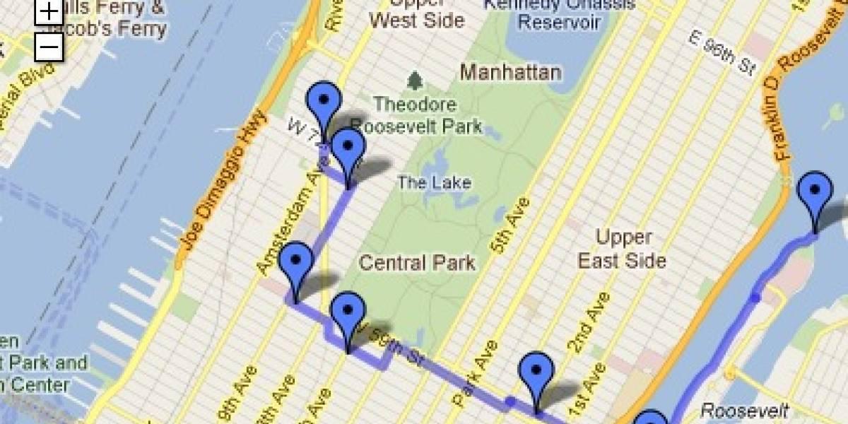Cásate conmigo dicho por Google Maps