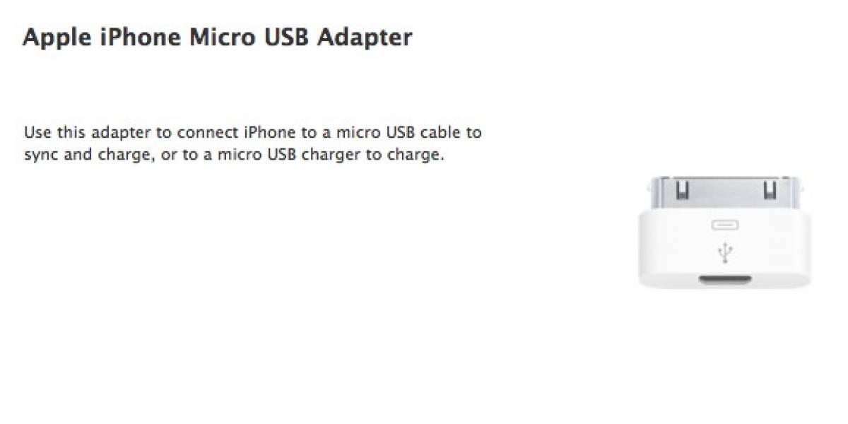 Finalmente, el iPhone podrá cargarse usando un cable Micro USB