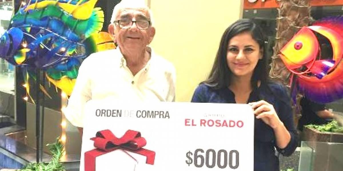 El 'Abuelito del Riocentro' recibió bono de USD 6.000