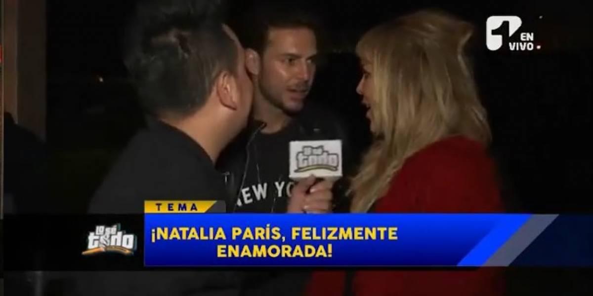¡Natalia París se encontró con varios ex en un evento!