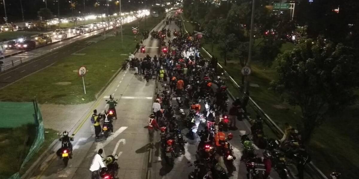 Mañana los motociclistas nuevamente se tomarán las vías con plan tortuga
