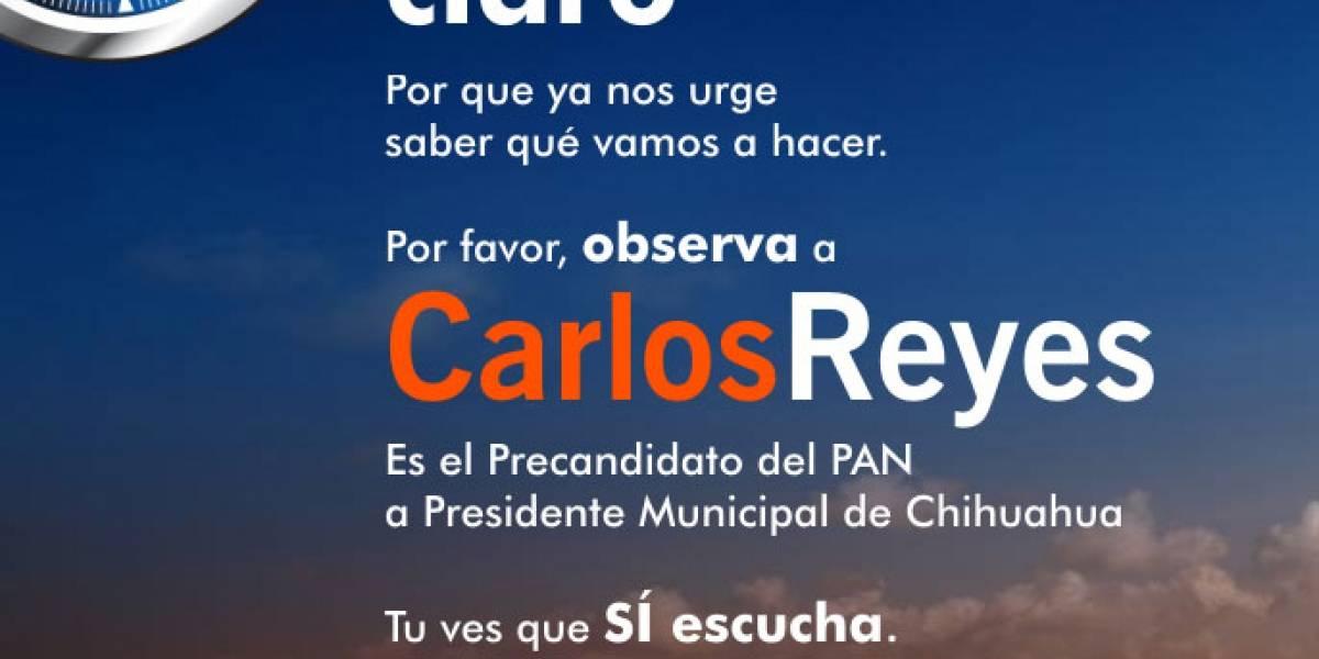 WTF? Político mexicano usa logo de Safari para su campaña