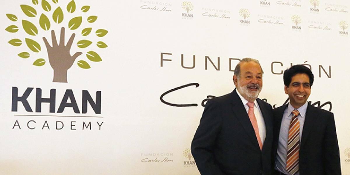México: Carlos Slim y Salman Khan van juntos en educación por internet