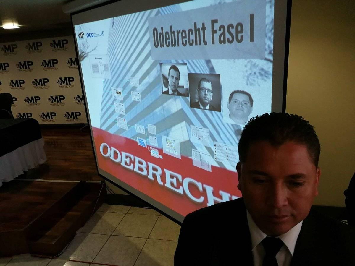 La empresa Odebrecht es señalada de corrupción por entregar sobornos a exfuncionarios, entre ellos Manuel Baldizón y Alejandro Sinibaldi. Edwin Bercián