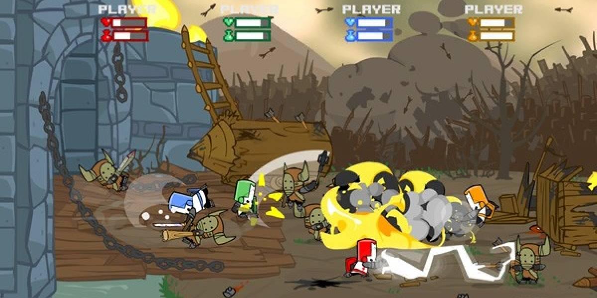 Más de 2 millones de jugadores han disfrutado de Castle Crashers