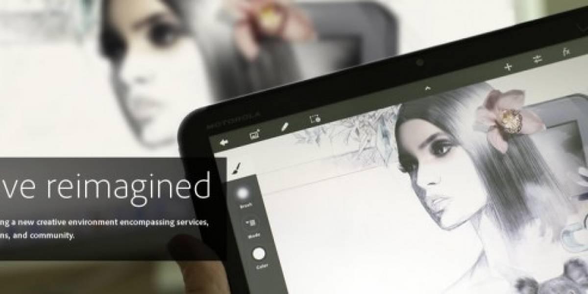 Adobe muestra el servicio Creative Cloud para sus aplicaciones móviles