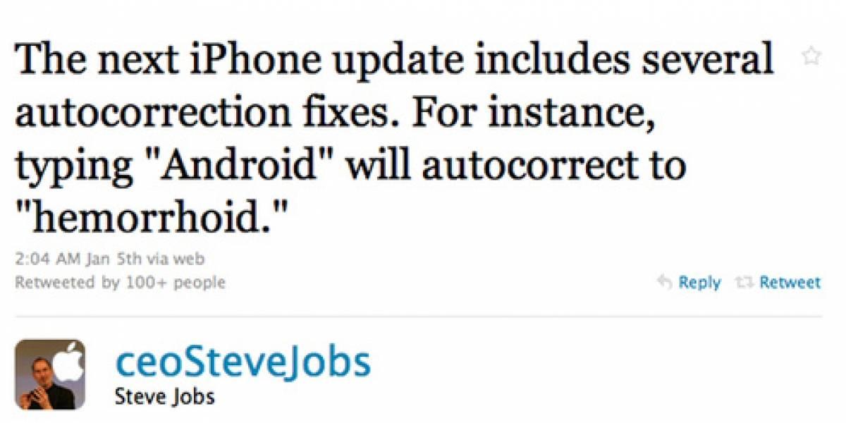 Apple no se toma las buenas parodias twitteras con humor