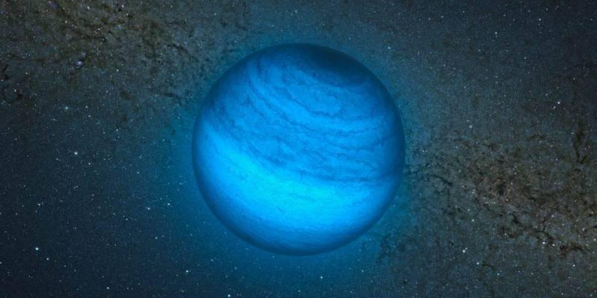 Encuentran el primer exoplaneta vagabundo a 100 años luz de nuestro sistema solar