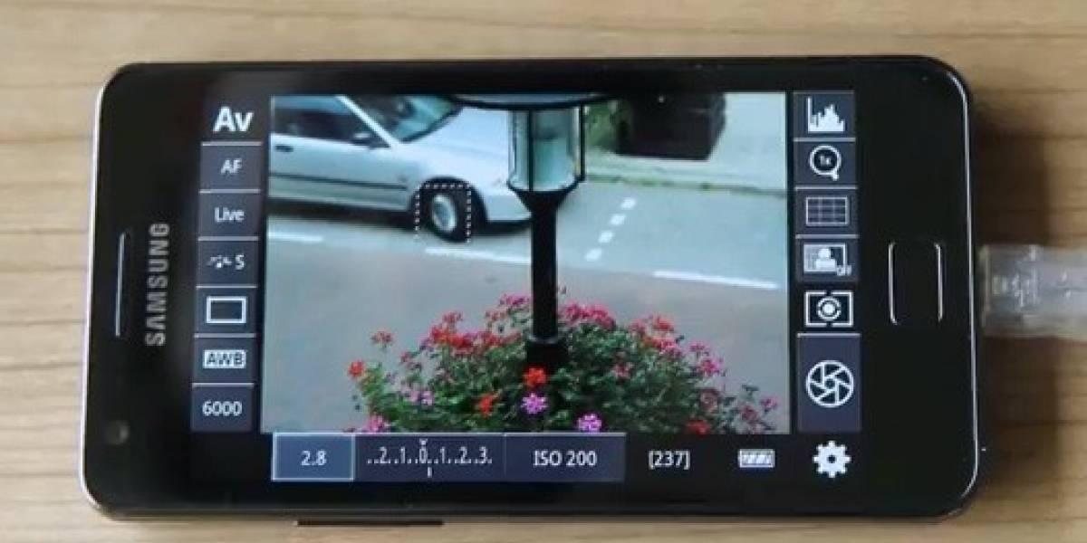 Controla tu cámara reflex digital Canon desde tu dispositivo Android