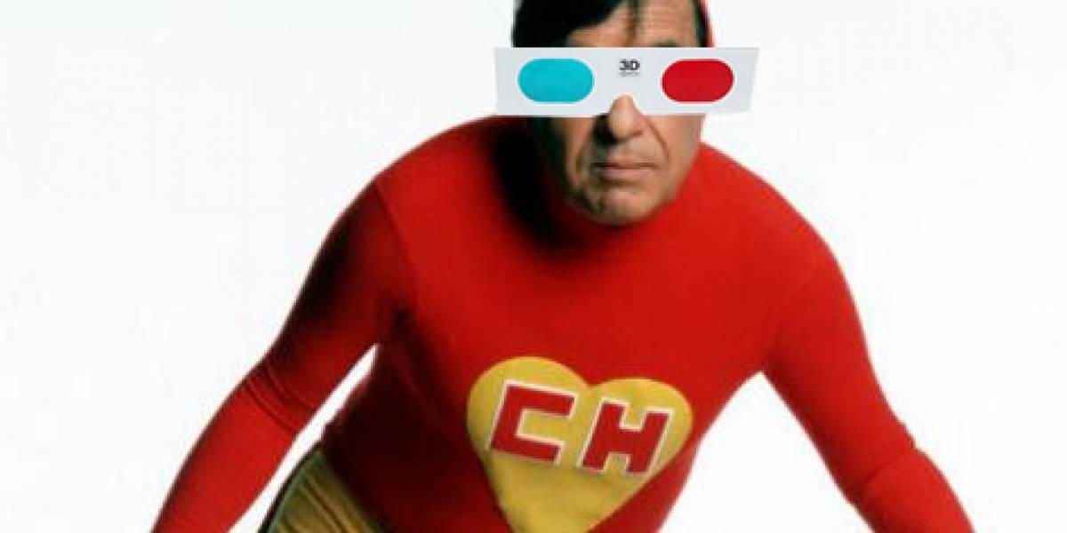 Chespirito planea hacer una película 3D sobre el Chapulín Colorado
