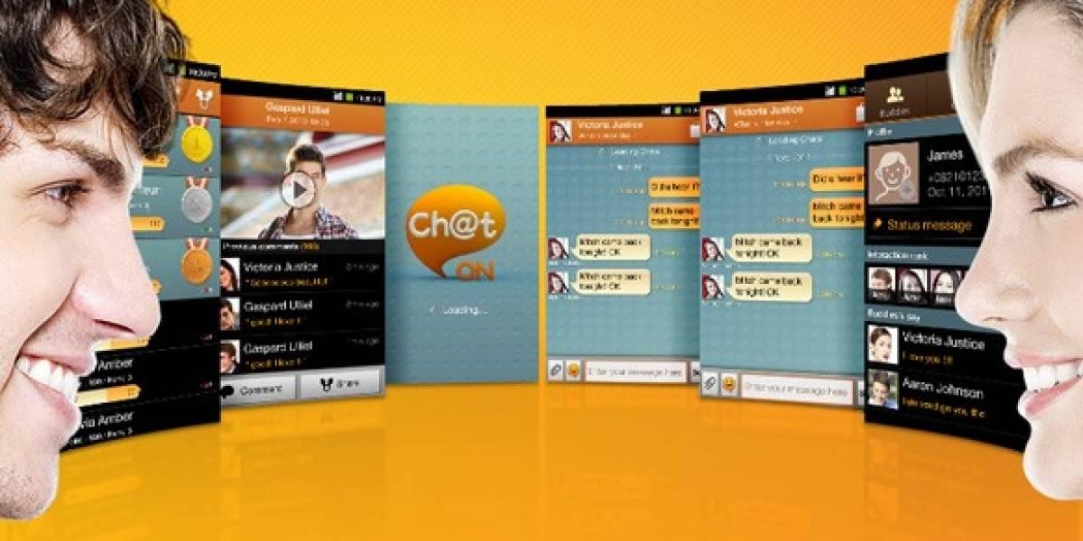 Samsung anuncia ChatOn, su sistema de mensajería instantánea