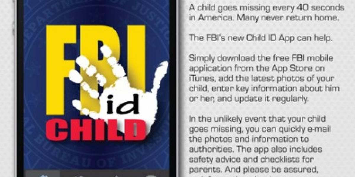 F.B.I. lanza aplicación para facilitar búsqueda de niños perdidos