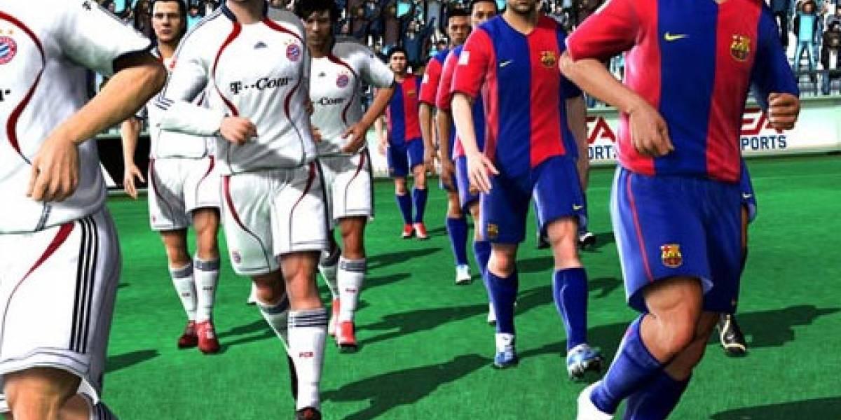 FIFA 08 apesta en PC, PES se lo desayuna con zapatos