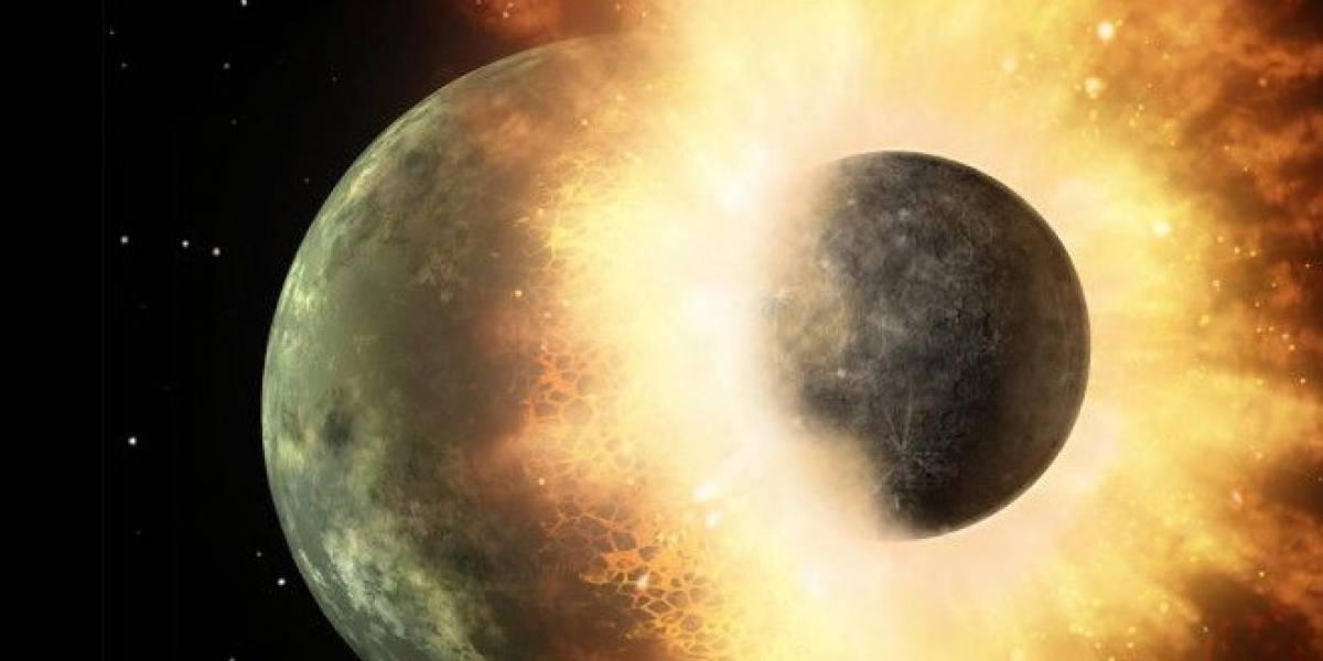 Nuevos estudios probarían que la Luna se formó en una colisión planetaria