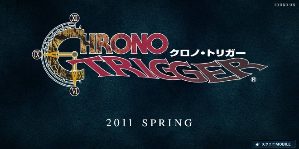 Chrono Trigger en tu teléfono el año entrante