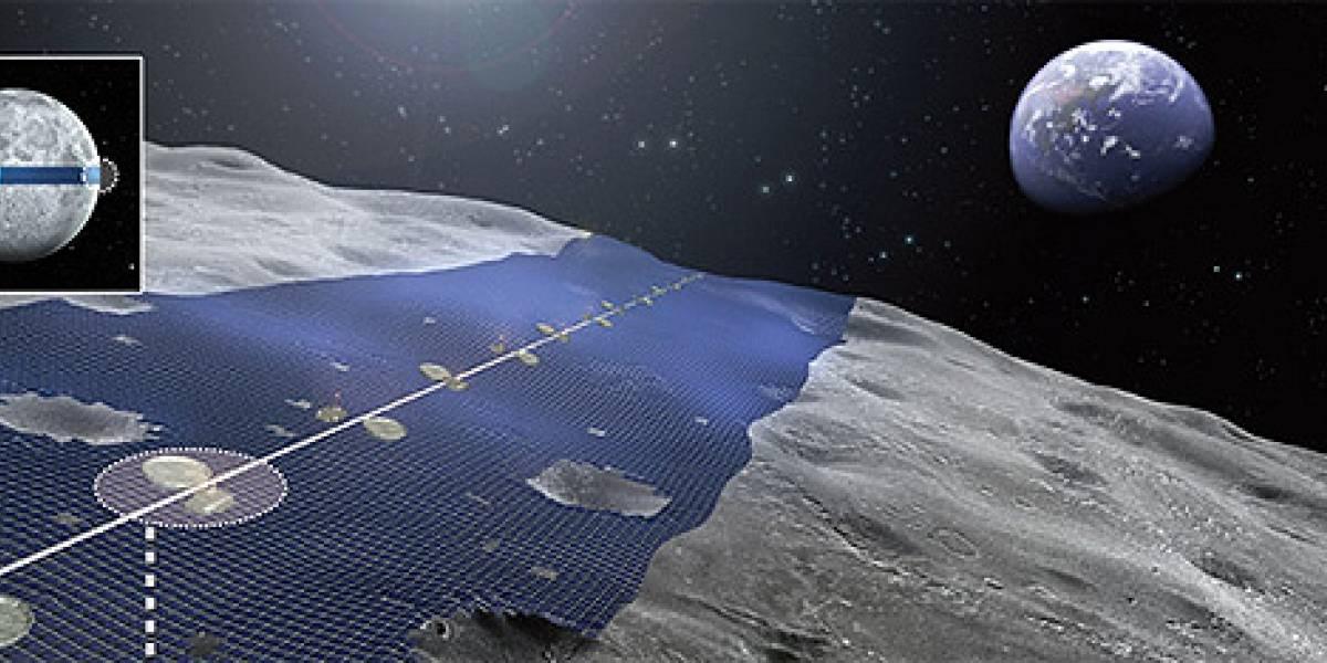 Japoneses sueñan con convertir la Luna en una enorme planta solar