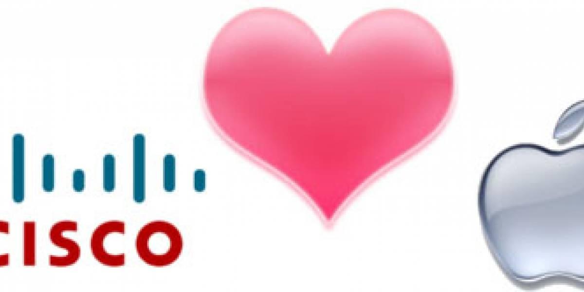 Cisco y Apple llegan a acuerdo por el iPhone