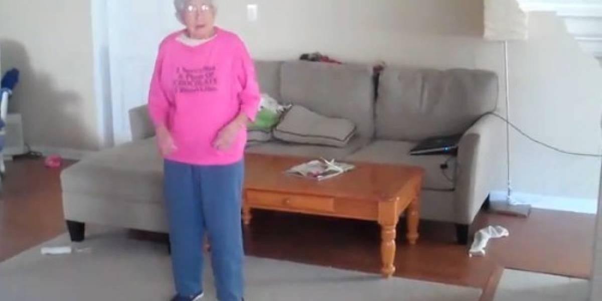 Una abuela de 97 años lo menea en Just Dance 2