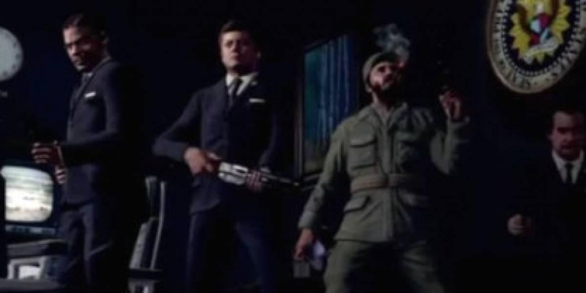 Trailer final de CoD: Black Ops + ¿Fidel Castro, Nixon, JFK y zombis?