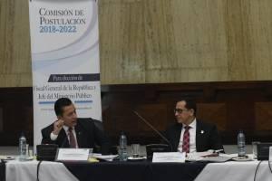 reunión de comisión de postulación a fiscal general