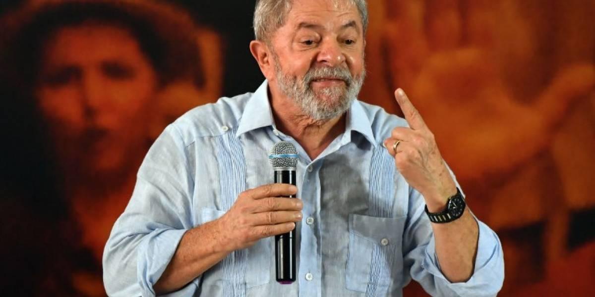 """Presentan """"habeas corpus"""" para evitar prisión de Lula da Silva"""