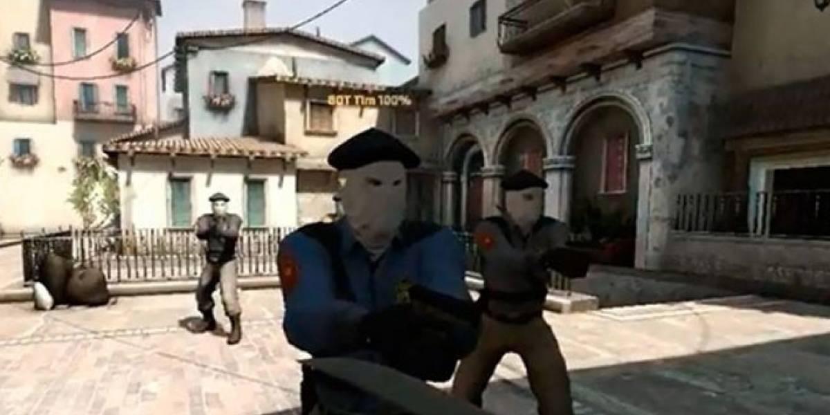España exige que se eliminen las referencias a ETA en Counter Strike