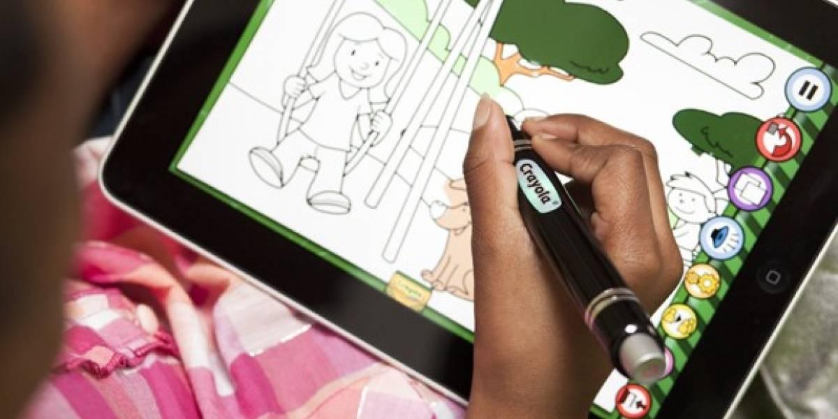 Con esta app los niños pintarrajearán la iPad y no las paredes