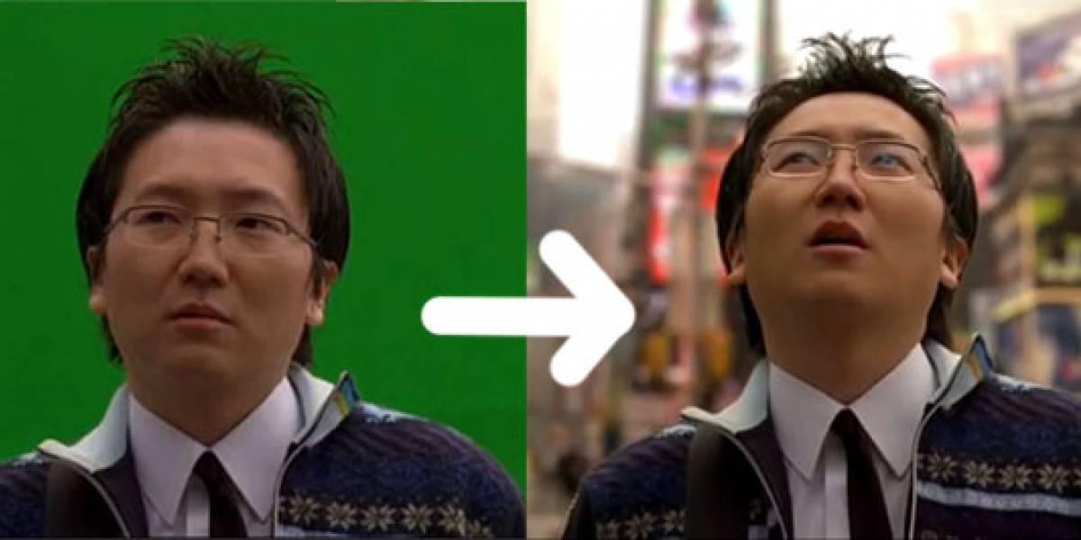 Inserción croma reemplaza al mundo real en casi todo lo que vemos en TV