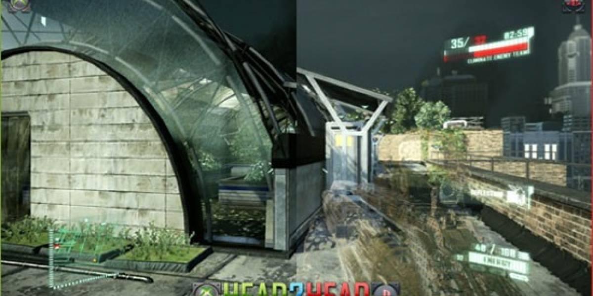 Crysis 2 en XBOX 360 y PlayStation 3 ¿Quién gana?