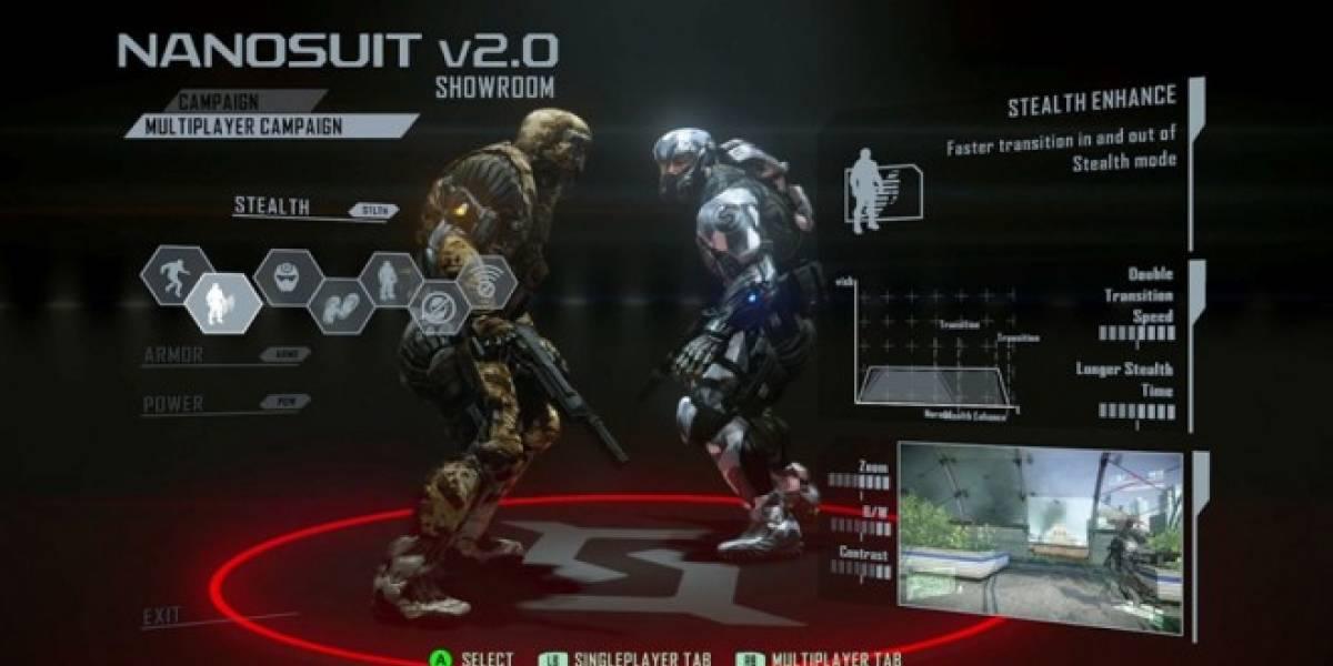 Las armas del multijugador de Crysis 2 en un nuevo trailer
