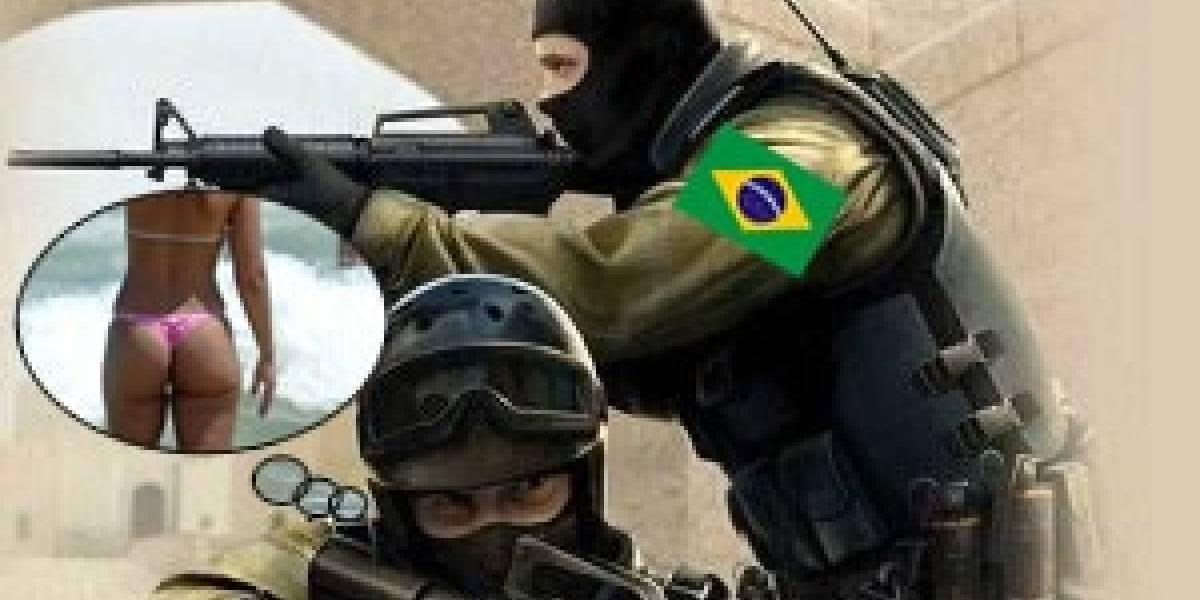 Brasil: No mais Counter Strike pra você