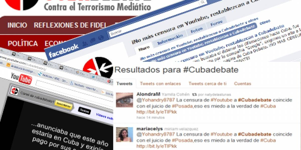 Cuba denuncia censura en YouTube