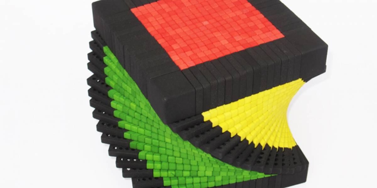 El cubo Rubik más complicado del mundo