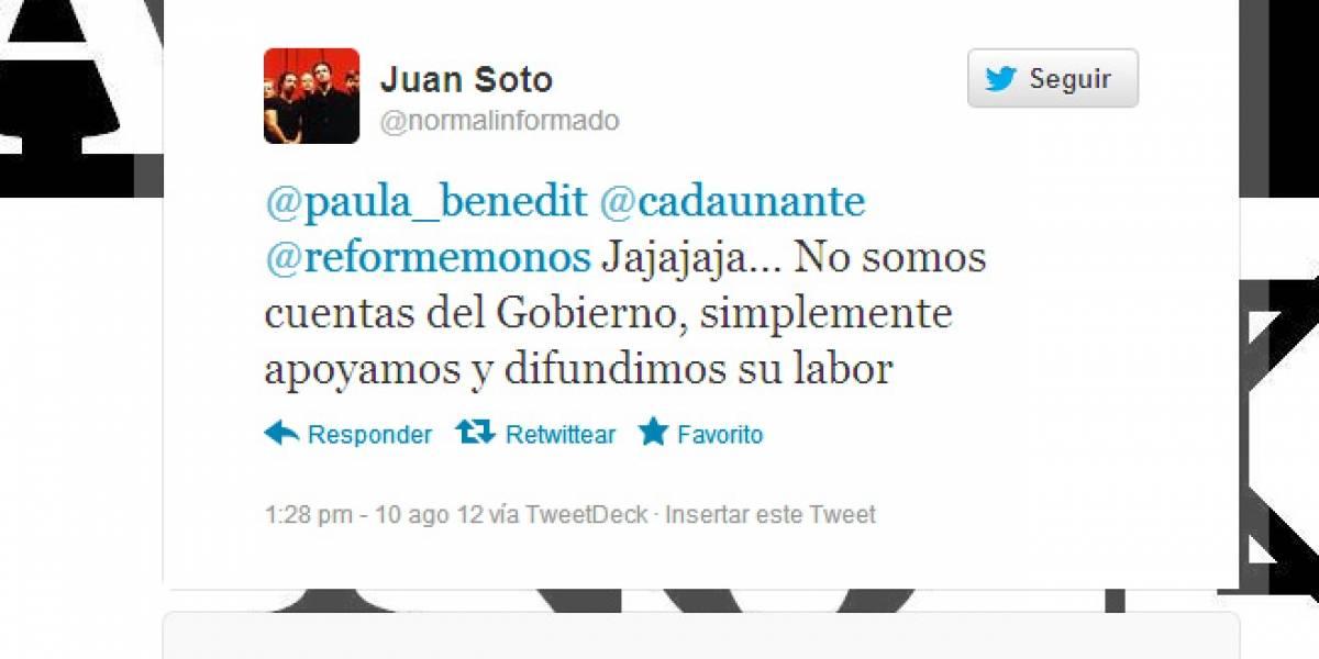 Chile: Denunciante afirma que desde marzo viene siguiendo 250 cuentas falsas