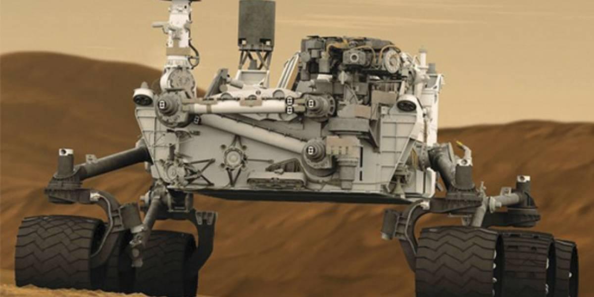 La NASA pondrá otro robot como el Mars Curiosity Rover el año 2020