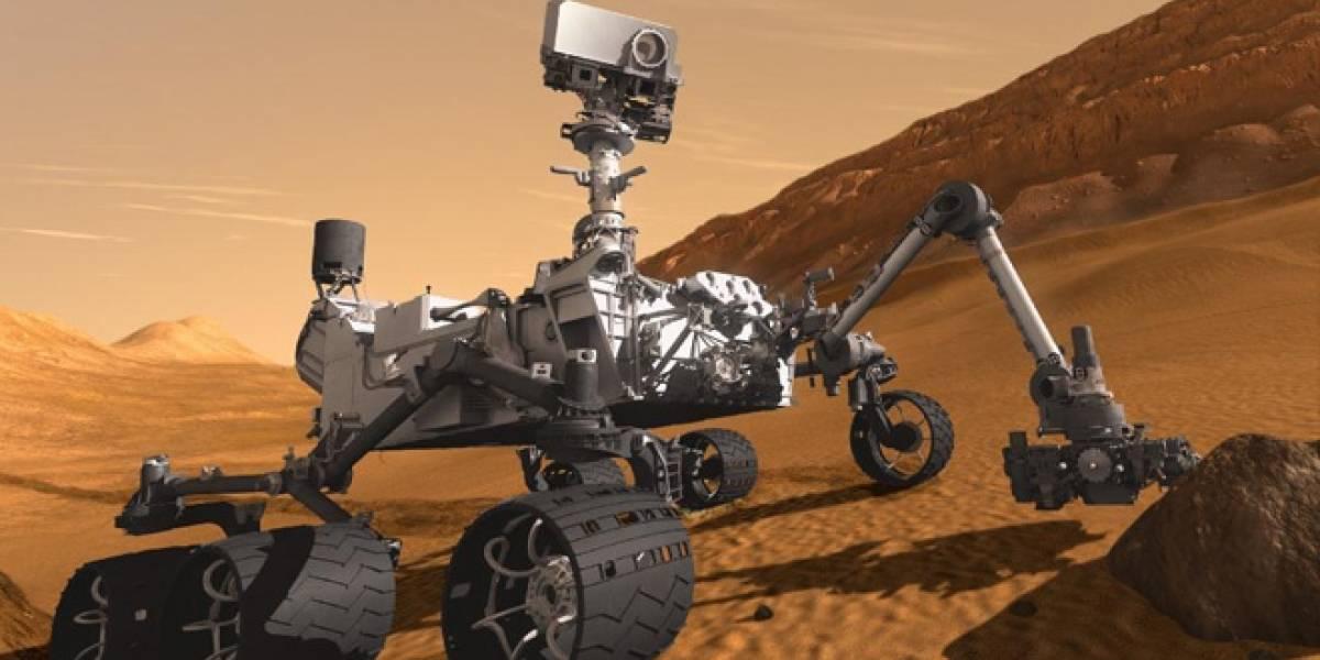 Curiosity recibe una actualización de software a 560 millones de kilómetros