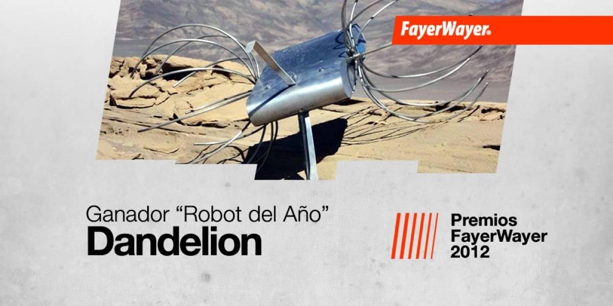 Dandelion: El robot del año 2012