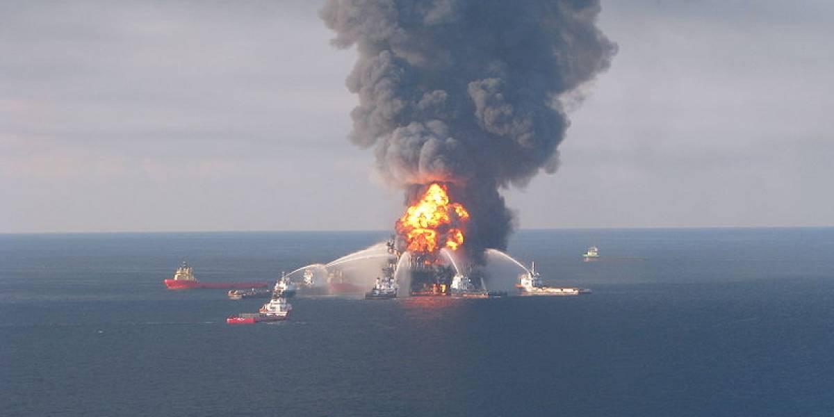 Bacterias se comieron todo el metano de derrame de BP en el Golfo de México