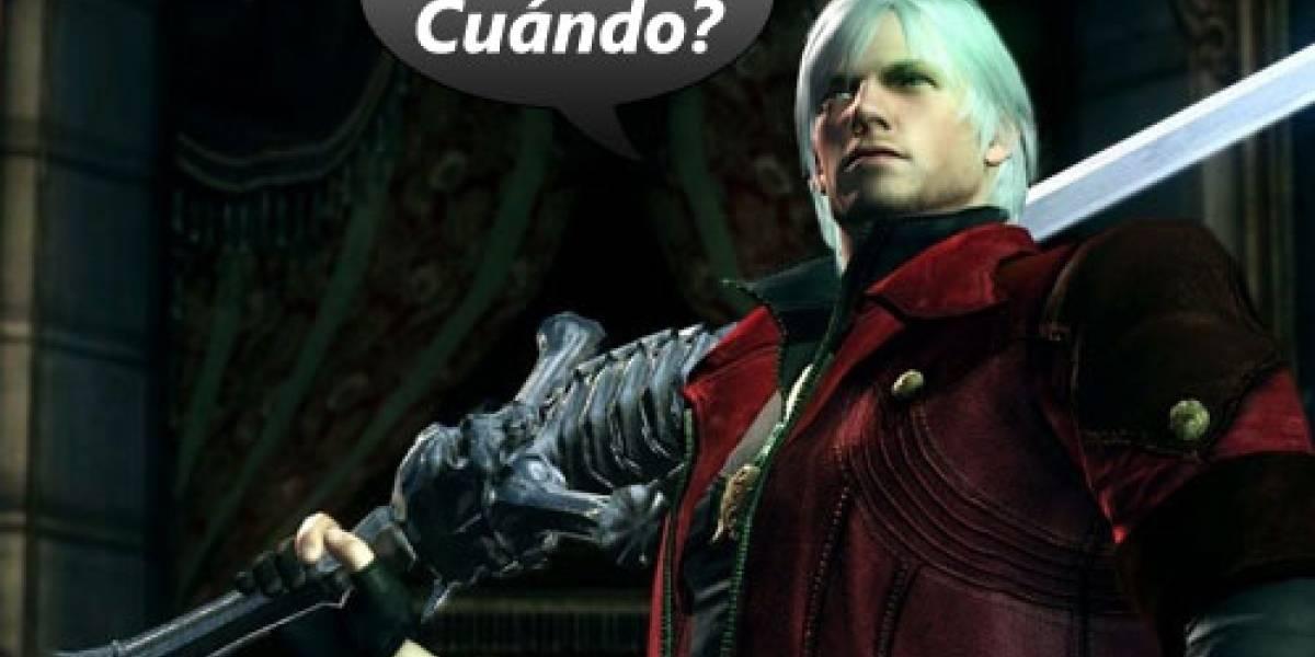 Devil May Cry 4 con demo a principios de enero