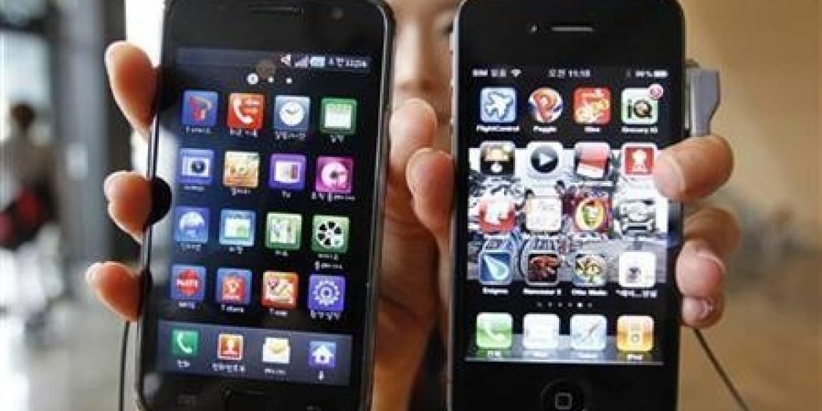 Apple demanda por patentes a Samsung en Corea del Sur