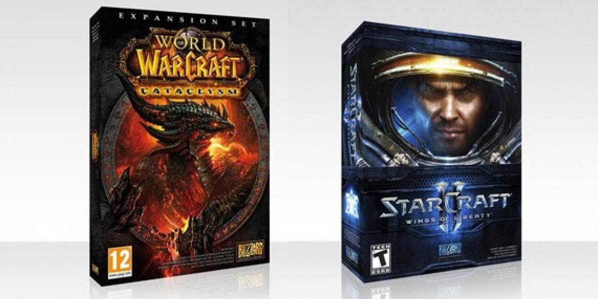 Y los ganadores del combo StarCraft II con WoW Cataclysm son...